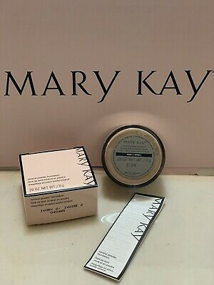 Mary Kay Mineral powder foundation IVORY 2 New In Box Fresh Products Originals