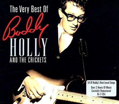 SEALED NEW CD Buddy Holly & The Crickets - The Very Best Of Buddy Holly & The Cr