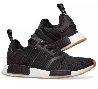 New! adidas NMD_R1 SHOES Faded EG7399 Core Black Cloud White Mens Shoes c1