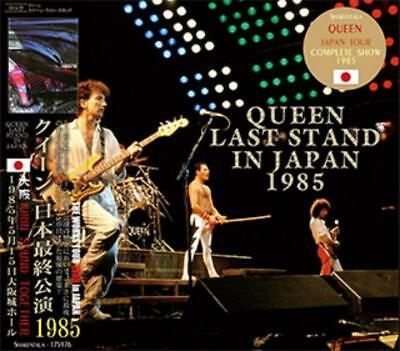 NEW QUEEN LAST STAND IN JAPAN 1985  2CD F/S ##Mm