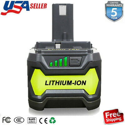 P108 For Ryobi 18 Volt One Plus + High Capacity Battery P104 4.0Ah Lithium Ion