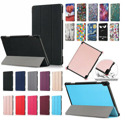 """For Lenovo Tab P10 TB-X705F Folding Case Stand 10.1"""" Tablet Magnetic Cover"""