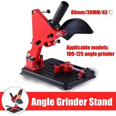 Angle Grinder Stand 45° Heavy Duty Cast Iron Cutting Fixing Clamp Holder Bracket