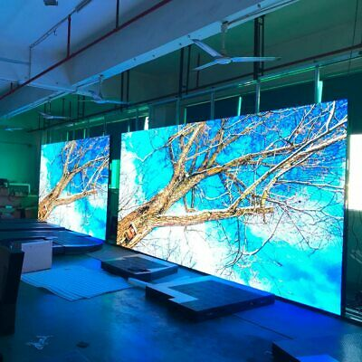 3mx2m Indoor Portable P3.91 Led Screen For Concerts Full Color Led Display Panel