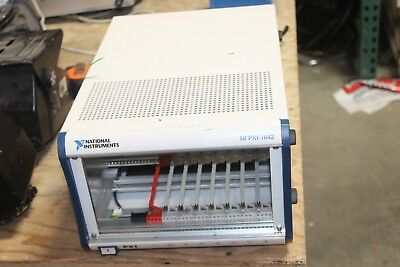 National Instruments NI PXI-1042Q Chassis / 8-Slot 3U PXI Mainframe
