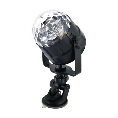 5W 15Colors LED USB Car DJ Disco Ball Lumiere Sound Activated Projector B9W2