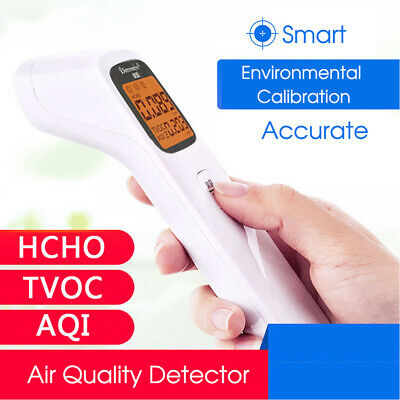 USB Carbon Dioxide Air Quality Monitor Data Logger Meter LCD Detector