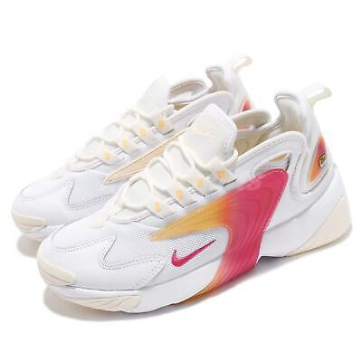4afb946a230de9 Nike Wmns Zoom 2K White Rush Pink Sail Womens Running Shoes Sneakers  AO0354-102