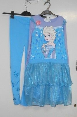 Disney Frozen Character Frill 2Pc Ing81 Size 9 -10 Yrs Cr087 Cc 06