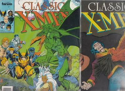 CLASSIC  X- MEN    Nºs.   20.  26.    ( LOTE  2  NUMEROS )  EDITORIAL FORUM.