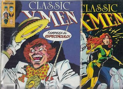 CLASSIC  X- MEN    Nºs.   29.  31.    ( LOTE  2  NUMEROS )  EDITORIAL FORUM.