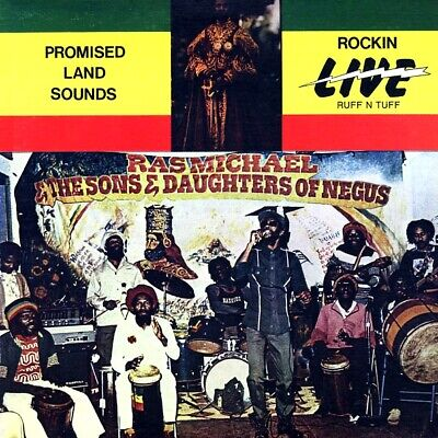 SEALED NEW LP Ras Michael & The Sons Of Negus - Promised Land Sounds: Rockin Liv
