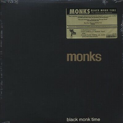 SEALED NEW LP Monks - Black Monk Time: The Definitive Reissue