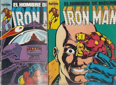 IRON MAN.  VOL. 1    Nºs.  20.   21.  ( LOTE  2  NUMEROS )  EDITORIAL FORUM