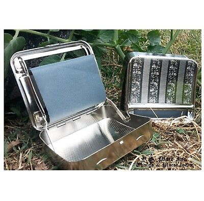 Cigarette Tobacco Rolling Automatic Roller Maker Machine Joint Silver Metal 4
