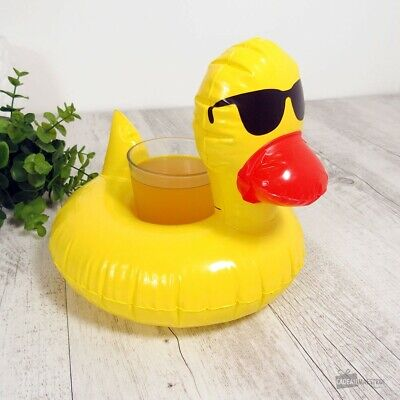 Porte-Verre Gonflable Canard (NEUF) - Cadeau Maestro