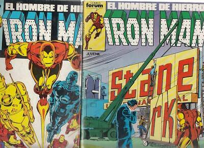 IRON MAN.  VOL. 1    Nºs.  25.   26.  ( LOTE  2  NUMEROS )  EDITORIAL FORUM