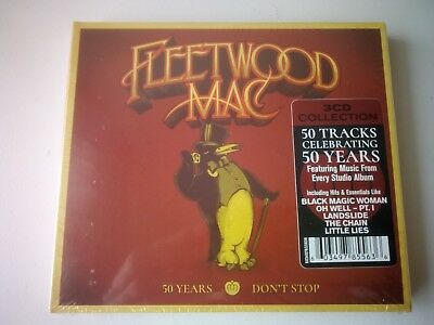 Fleetwood Mac 50 Years Don't Stop 3 Cd New And Sealed