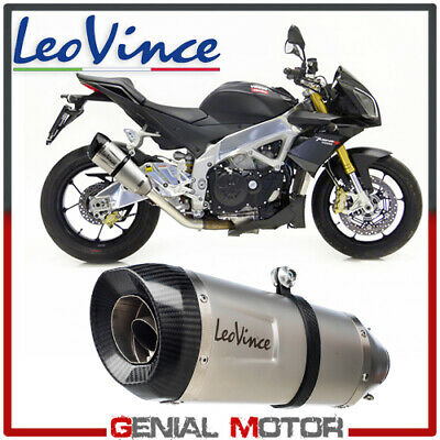 Exhaust Leovince Factory S Stainless Steel Aprilia Tuono V4 R/Aprc 2009 > 2015