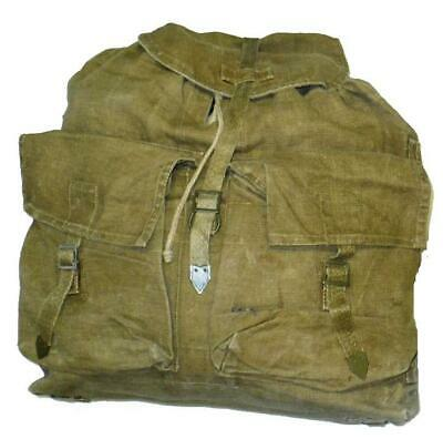 Vintage CZECH Army Retro M60 Rucksack Backpack CANVAS