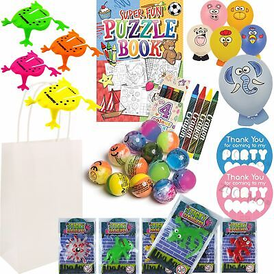 Pre Filled Boys Girls Thank You Birthday Favor Goodie Loot Party Bags Gifts Kids