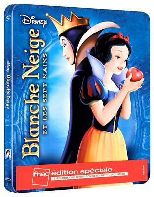 Blanche Neige Edition Fnac Steelbook  Blu Ray  Neuf Sous Cellophane