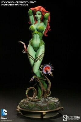 Sideshow Poison Ivy Green with Envy Premium Format Figure LE 2500 Sealed NIB