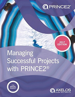 Managing Successful Projects with PRINCE2 2017 Edition (UK IMPORT) BOOK NEW