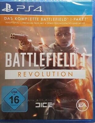 Battlefield 1 - Revolution - PS4 - NEU/OVP - PlayStation 4