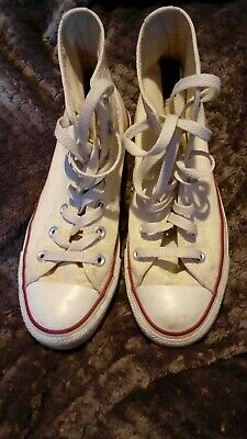 d51ed7379005e4 Women s Converse All Star Hi top trainers Cream UK Size 5 Used Good  Condition.