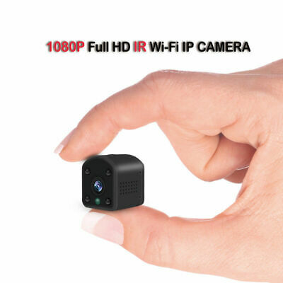 Mini Full HD Spia Telecamera Wireless Wifi Nascosta Micro Spy Video Camera IP DV