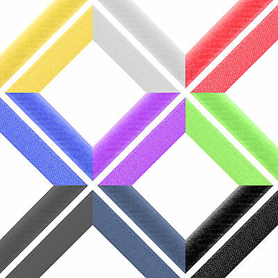 20mm Wide High Quality Hook & Loop Tape Strip Fastening ⋆ 9 Colours ⋆ 7 Lengths