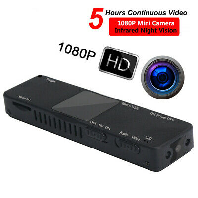 Mini Spy Camera Full HD Spia Telecamera Infrarossi Video Nascosta Micro DV DVR