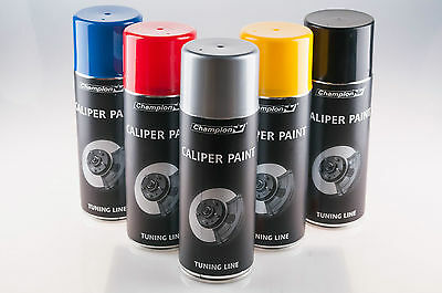 Brake,Drum Caliper Paint 400ml.Blue,Red,Silver,Yellow,Black