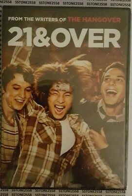 *BRAND NEW IN FACTORY SEALED* 21 & Over DVD 2013 Comedy FREE SHIPPING