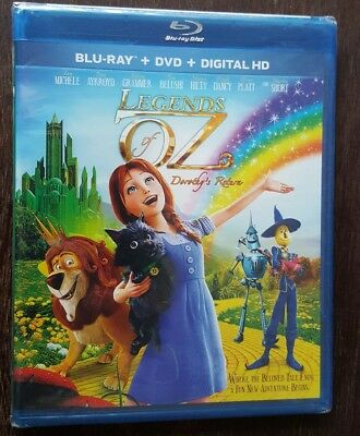 *BRAND NEW* Legends of Oz: Dorothy's Return (Blu-ray + DVD, 2 Discs) FREE SHIP