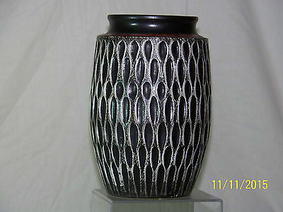 """Exceptional"" West German Mid-Century Art Pottery Retro Vase"