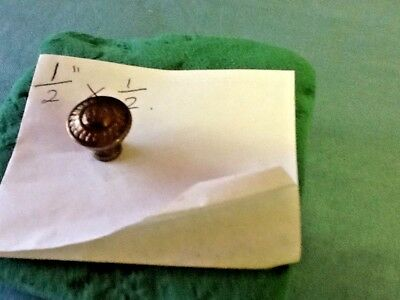 Small Antique Style Brass Knobs