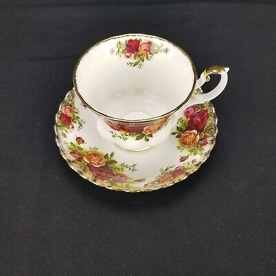 Royal Albert China Old Country Roses Tea Cup and Saucer