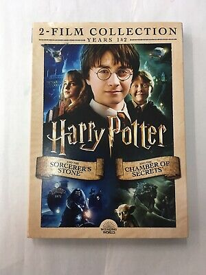 Brand New Harry Potter & The Sorcerers Stone/Chamber Of Secrets W/Slipcover