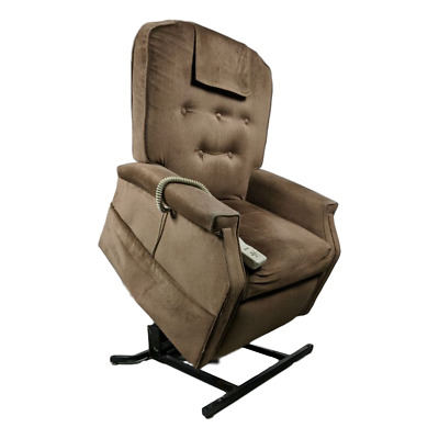 Magnificent Pride Mobility Electric Lift Chair Recliner Light Chocolate Gmtry Best Dining Table And Chair Ideas Images Gmtryco