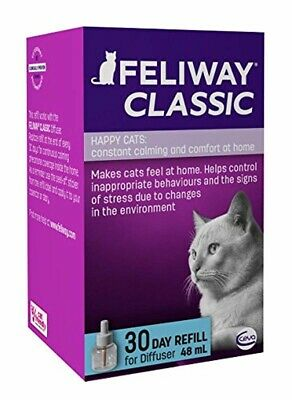 Feliway CLASSIC Cat Pheromone Diffuser 30 Day Refill, Pack of 1 for happy cats