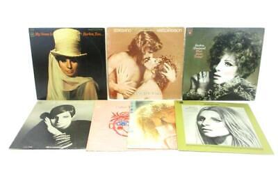 Lot of 7 BARBRA STREISAND Vinyl LP Records Live Concert Emotions Color Me More
