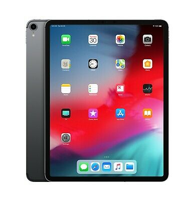 Apple iPad Pro 3rd Gen. 64GB, Wi-Fi +Cellular (Unlocked), 12.9in - Space Gray