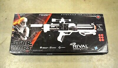 DEFECTIVE GENUINE Nerf - Rival Star Wars Stormtrooper Blaster - E2145 - (READ)