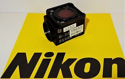 Nikon Green G-2A Fluorescent  Microscope Filter Cube Labophot, Optiphot, TMD
