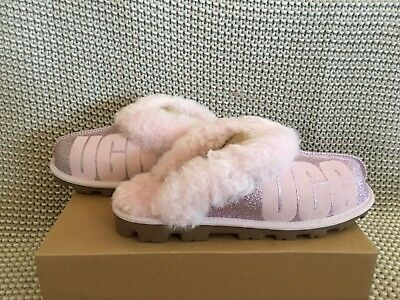 182c2661b41 WOMENS 8 GENUINE UGG Coquette SLIPPERS Pink Need insoles - $13.03 ...