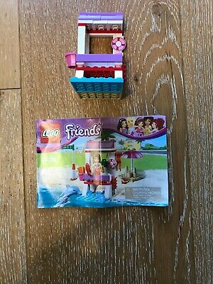 Lego Friends Emmas Lifeguard Post 41028 With Instructions Retired