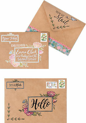 Sizzix Clear Stamps By Katelyn Lizardi-You've Got Mail