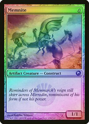 Necropede FOIL Scars of Mirrodin PLD-SP Artifact Uncommon MAGIC CARD ABUGames
